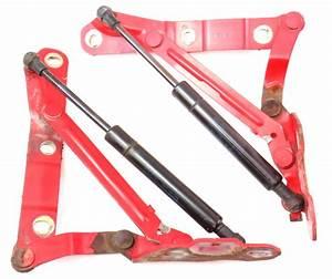 Trunk Hinges  U0026 Shocks Lift Struts 93-99 Vw Jetta Mk3 Ly3d Tornado Red