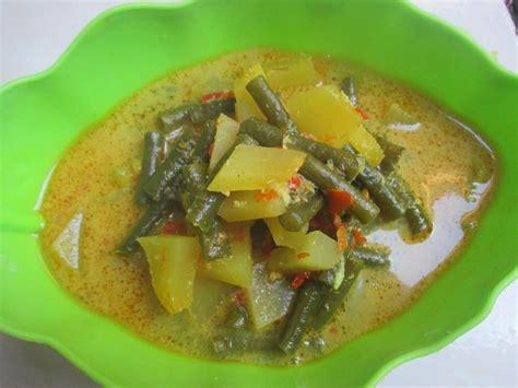 resep bahan bahan membuat lodeh pepaya resep masakan
