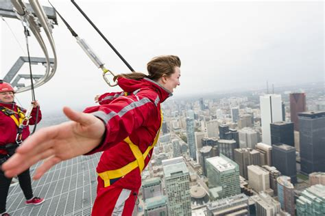 cn tower walk toronto edgewalk take side canadian guide
