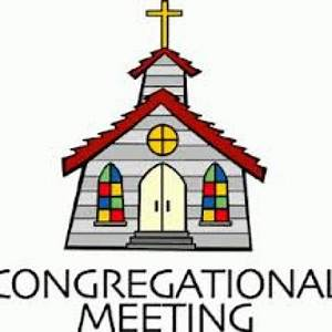 Congregational Meeting – Because Grace Happens