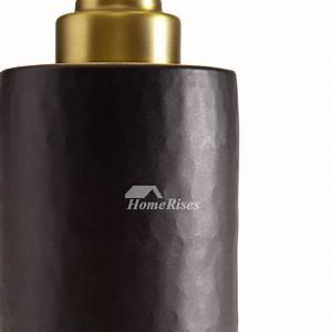 Luxury Vintage Gold Black Bathroom Liquid Soap Dispenser