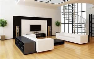 Deco Design Salon : d co maison salon design ~ Farleysfitness.com Idées de Décoration