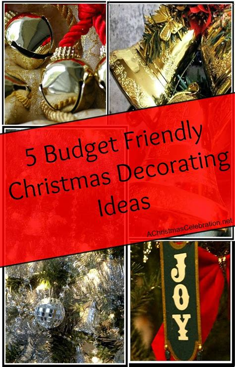 5 budget friendly christmas decorating tips