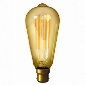Ampoule Vintage Led : ampoule led filament vintage b22 calex ~ Edinachiropracticcenter.com Idées de Décoration