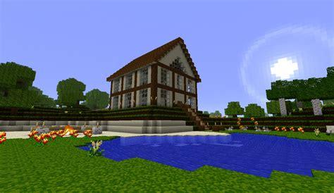 medium spawn house  minecraft map