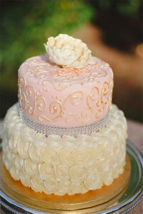 pink and gold cake www imgkid the image kid has it