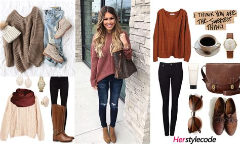 40 Chic Sweater Outfit Ideas For Fallwinter Outfits