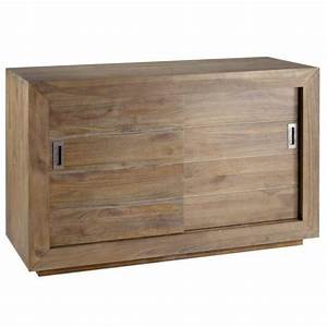 meuble salle de bain en teck gris 2 portes coul achat With porte d entrée pvc avec alban salle de bain complète double vasque 120 cm