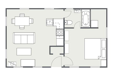 1 house plans wwwgenerationyhousescom one bedroom design small house