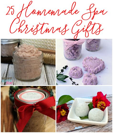 homemade spa products diy spa and bath christmas gifts