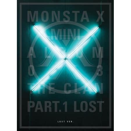 monsta x album list in order monsta x the clan 2 5 part 1 lost 3rd mini album found