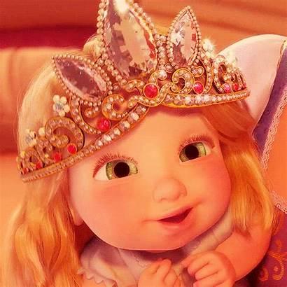 Princess Disney Tangled Rapunzel Eyes Animated Tattoos