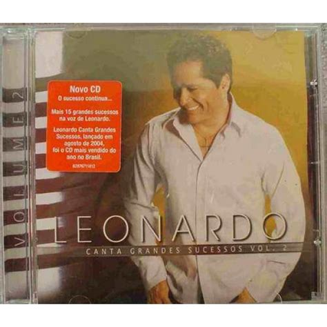 Cd Leonardo  Canta Grandes Sucessos Vol02, Merci Disco