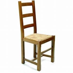Chaise de salle a manger en bois rustica for Meuble salle À manger avec acheter une chaise
