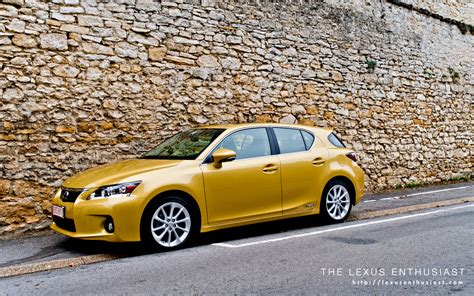 lexus yellow lexus ct 200h in daybreak yellow lexus enthusiast