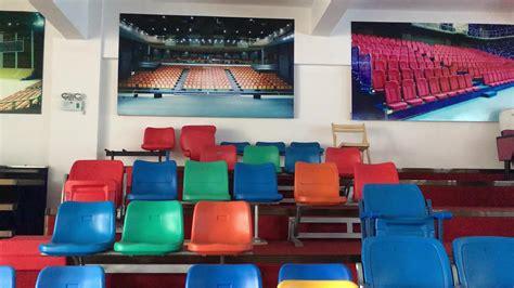 bleacher chairs deluxe cushion plastic stadium chair buy