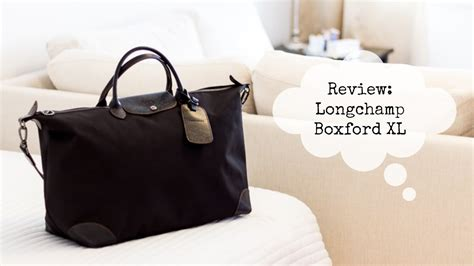 longchamp boxford travel bag xl review youtube