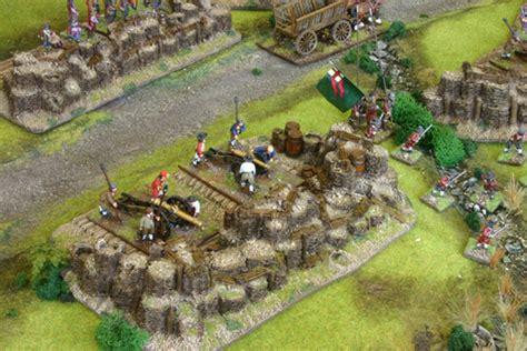 position siege siege gabion gun position