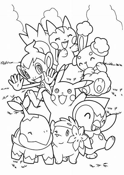 Pokemon Coloring Pages Boys