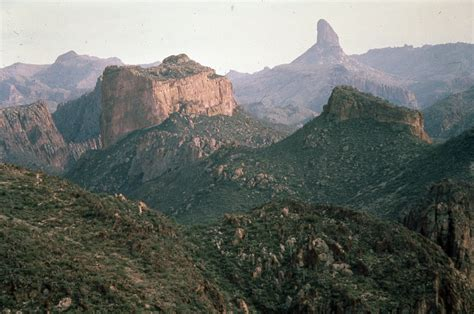 Weaver's Needle, Superstition Mountains, central Arizona ...