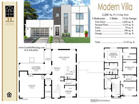 contemporary plan modern floor plan of villa studio design gallery