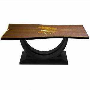 exclusive wood and stone coffee table for sale at 1stdibs With wood and stone coffee table