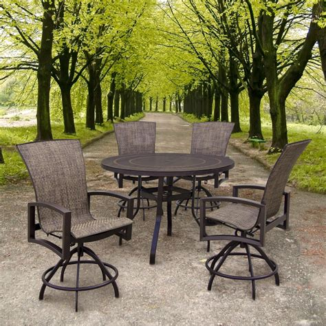 Homecrest Patio Furniture by Havenhill Counter Height Patio By Homecrest Family Leisure