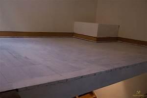 Peindre Un Mur Deja Peint Sans Poncer : peindre en blanc un plancher en bois ancien d j peint ~ Dailycaller-alerts.com Idées de Décoration
