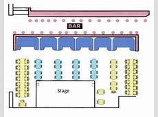 How does our seating work? Blue Note Napa