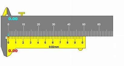 Vernier Measurement Mm Scale 44 Caliper Ruler