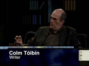Colm Tóibin on a novelist's instinct - YouTube