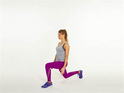 Weight Challenge Lunge Loss Exercise Shape Lose