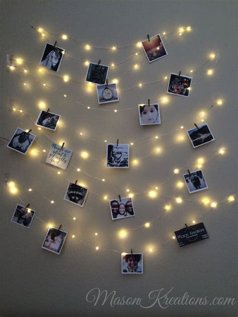 How To Hang Up Led Lights In Your Room by The 25 Best Photo String Ideas On Hanging
