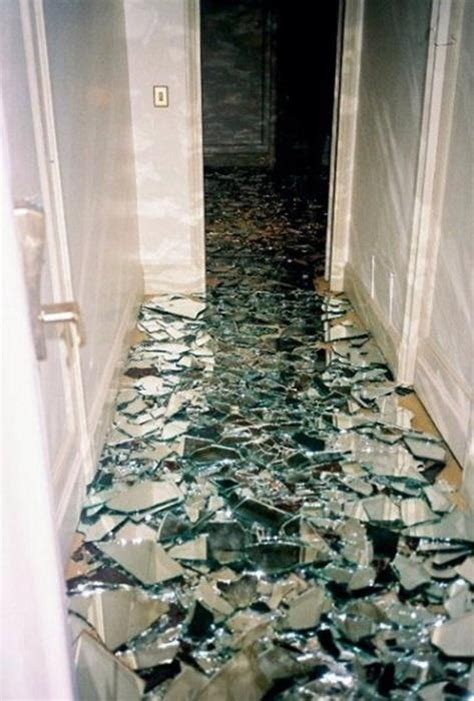 floor mirror glass don t pin that shattered mirror floor