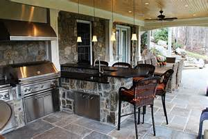 curved kitchen island designs photo gallery of outdoor kitchens fireplaces pits
