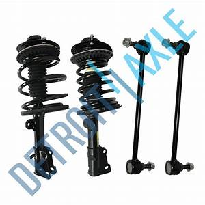 New 4pc  Kit Front Complete Ready Strut Assembly   Sway