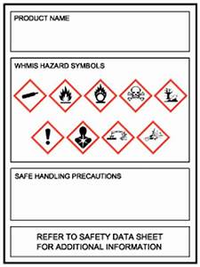whmis 2015 labels supplier labels workplace labels With whmis labels template