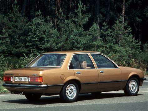 opel rekord opel rekord technical specifications and fuel economy