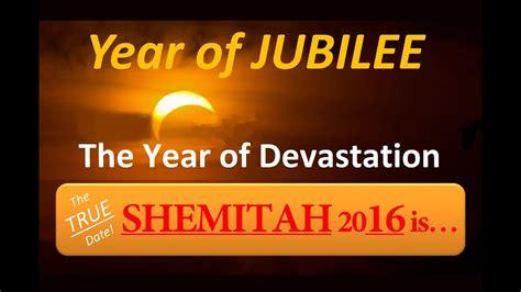 credit collapse true date  shemitah    year