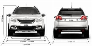 Dimension 2008 Peugeot : peugeot 2008 crossover technical data and specifications ~ Maxctalentgroup.com Avis de Voitures
