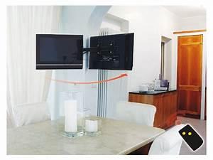 Fernseh Wandhalterung Schwenkbar : mecatronica flag 50m elektrische tv wandhalterung ~ Kayakingforconservation.com Haus und Dekorationen