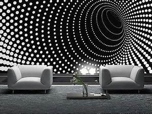WALLPAPER MURAL PHOTO Black abstract GIANT WALL DECOR