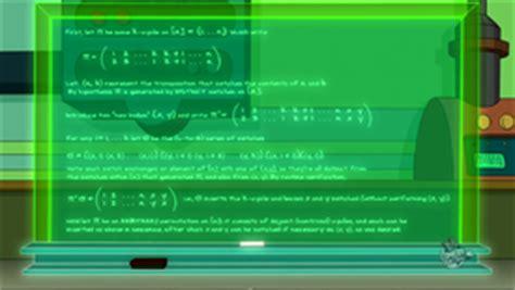 futurama theorem  infosphere  futurama wiki
