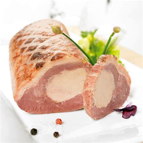 canapé au foie gras le magret de canard fourré au foie gras de canard entier