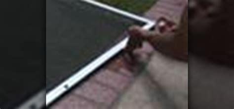 how to clean a patio screen door 171 housekeeping