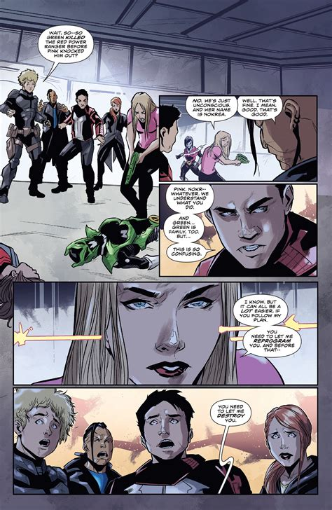 Sabans Power Rangers: The Psycho Path | Read All Comics ...