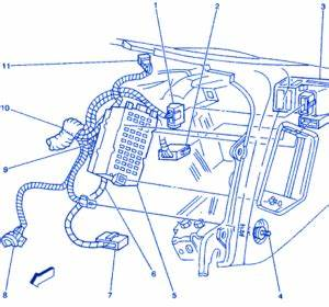 Gmc Yukon Xl 2004 Instrument Electrical Circuit Wiring