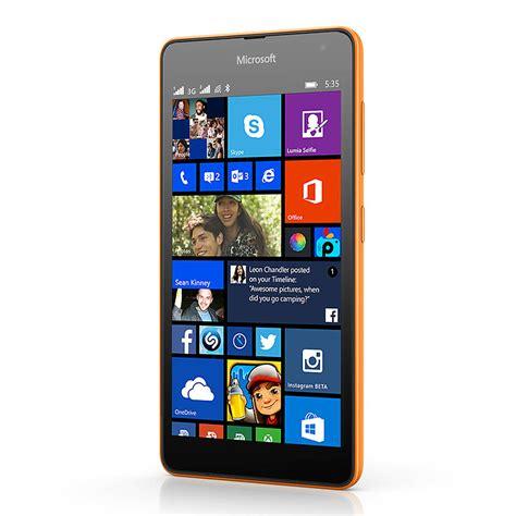 microsoft lumia 535 dual sim affordable phone with large screen wp 8 1 microsoft india