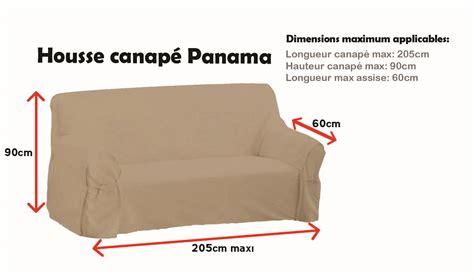 laver housse canapé housse de canapé panama taupe cacao autres ebay