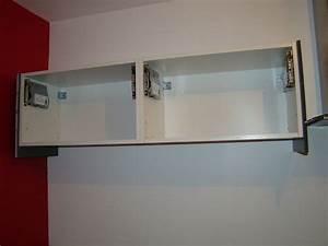 meuble cuisine mural nice ikea meuble cuisine haut 8 With carrelage adhesif salle de bain avec tv led 32 blanc